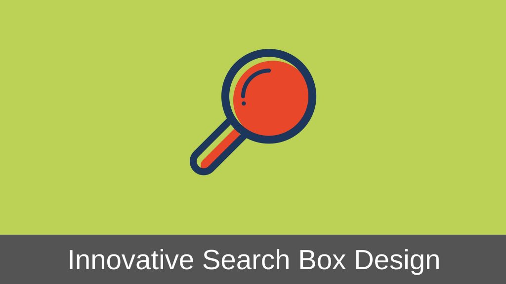 Search Box Design