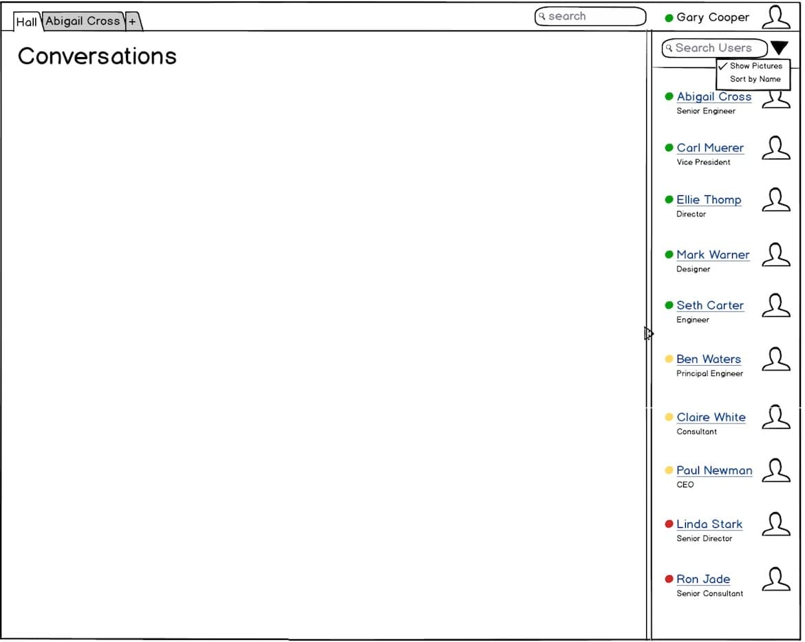 How I Designed the Home Page of Kandan Web Chat Client