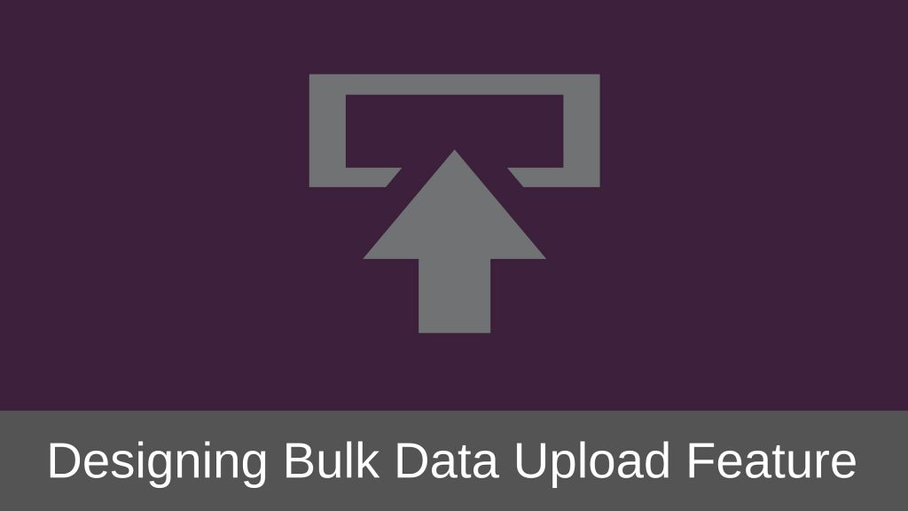 Bulk Data Upload