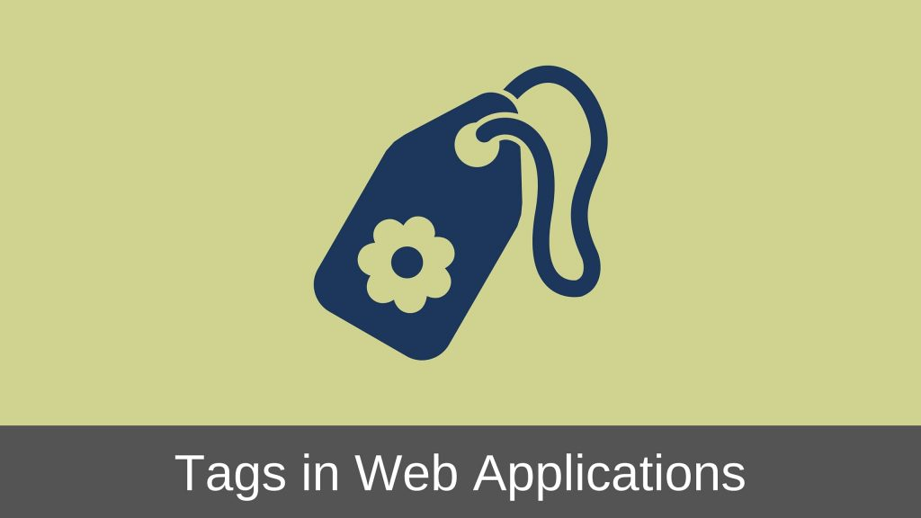 Web Application Tags