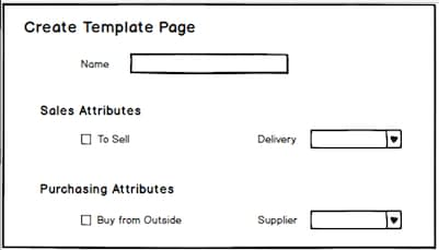 Create Template Page