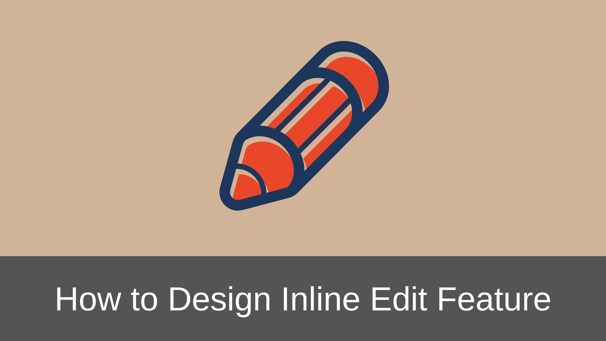 Design In Line : How to properly design inline edit feature in web applications
