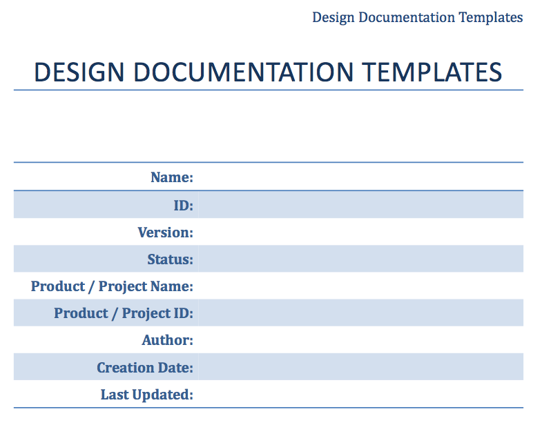 solution approach document template - web app design documentation templates web app huddle