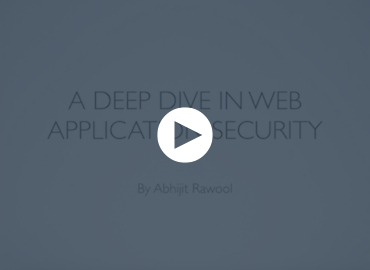 A Deep Dive In Web Application Security