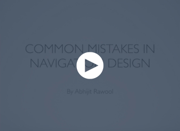 Common Mistakes In Navigation Design