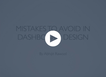 Mistakes To Avoid In Dashboard Design