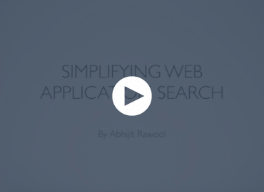 Simplifying Web Application Search